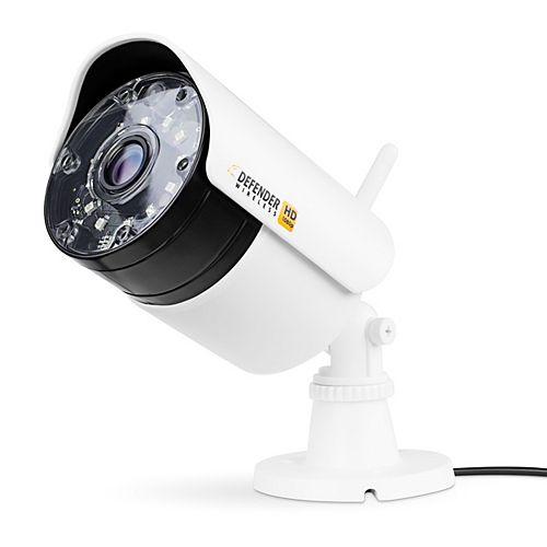 Wireless HD 1080p Indoor/Outdoor Bullet Security Camera