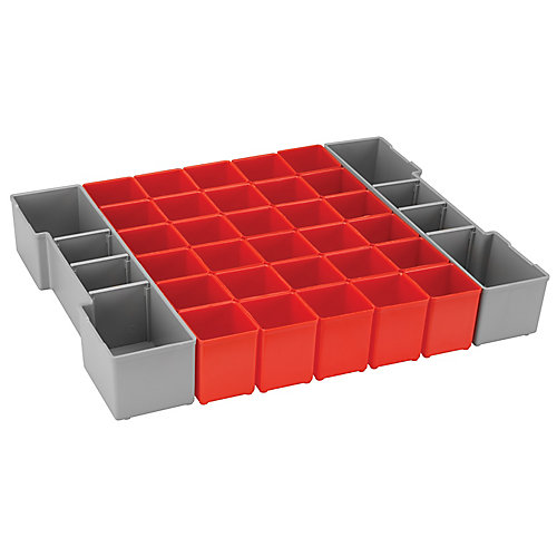 32-Piece Organizer Insert Set for L-Boxx System