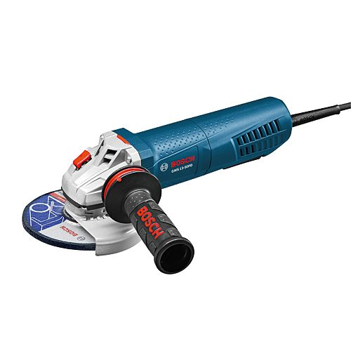 5 Inch Angle Grinder with No-Lock-On Paddle Switch