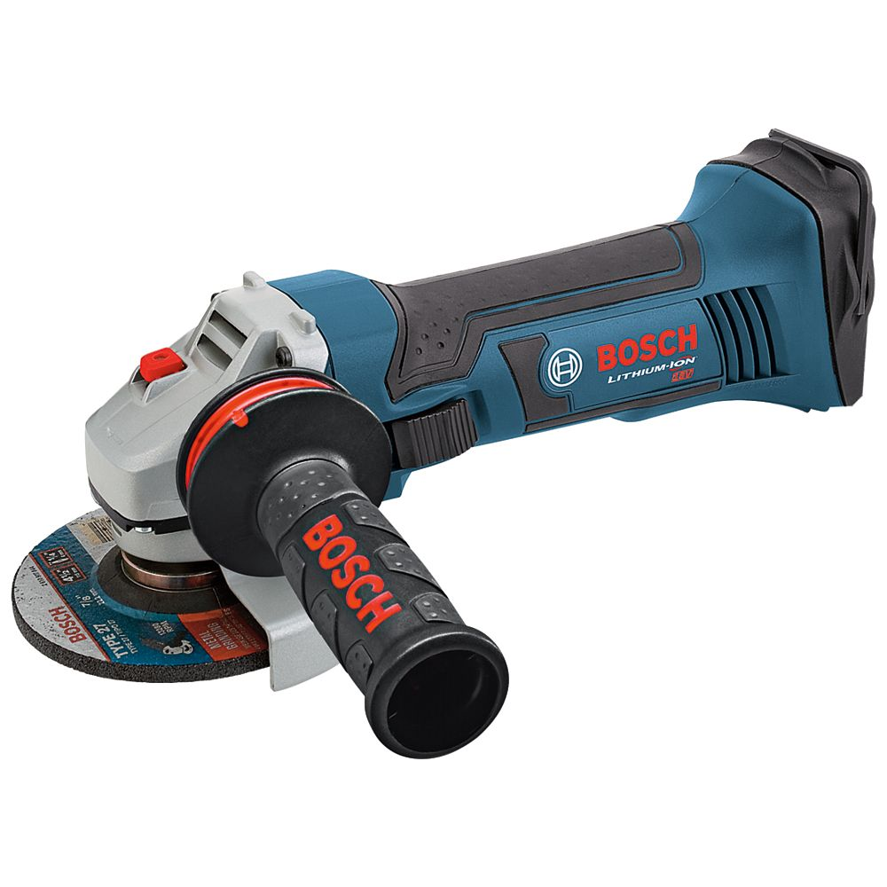 Bosch Rectifieuse angulaire 18 V de 4-1/2 po (outil seulement)