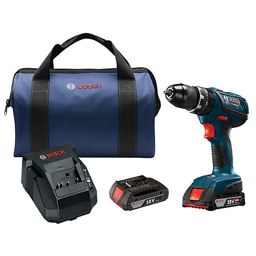 18V Compact Tough 1/2 Inch Hammer Drill/Driver Kit