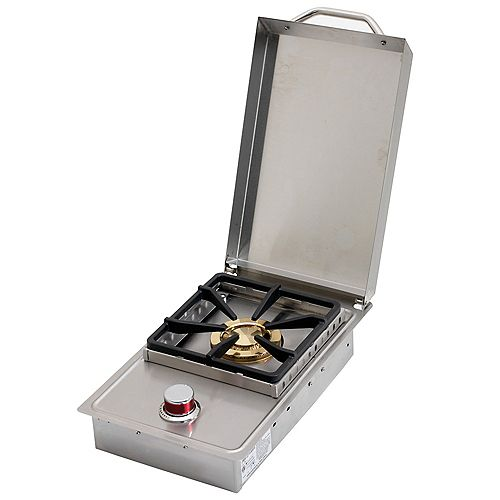 Stainless Steel Built-In Gas Single Side-Burner