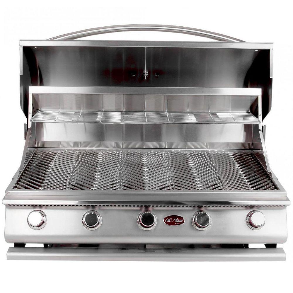 Cal Flame Gourmet Series 5-Burner Built-In Stainless Steel Propane BBQ