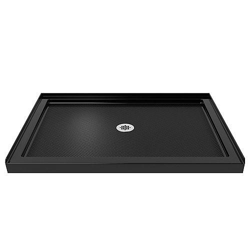 DreamLine SlimLine 34-inch x 42-inch Single Threshold Shower Base in Black colour