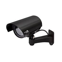 Fausse Caméra «Bullet» Extérieur CCTV Réaliste avec LED Clignotante de HOMEGUARD