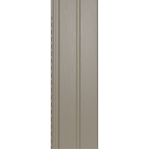 Abtco 10-inch Vertical Siding/D5 Solid Soffit Almond (Piece)