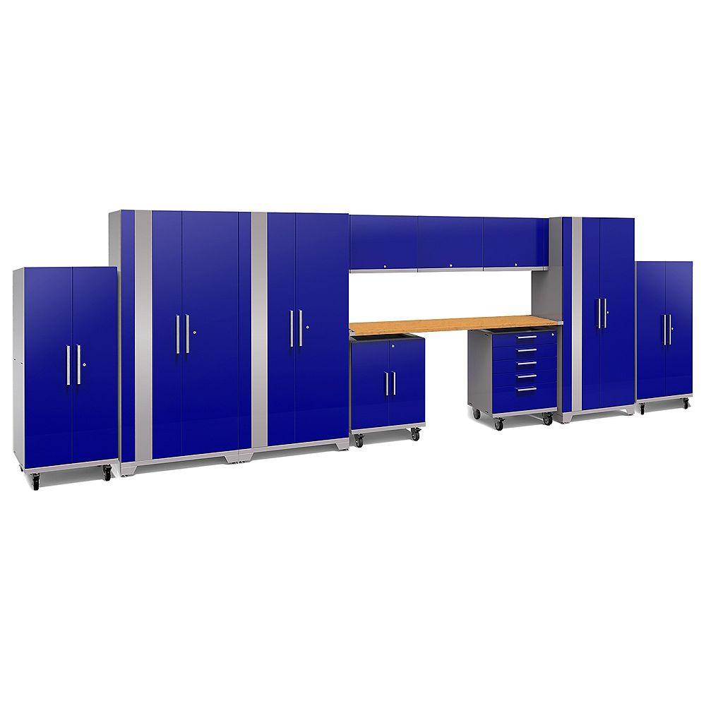 NewAge Products Inc. Ensemble de 11 pièces Performance Plus 2.0 (bleu)