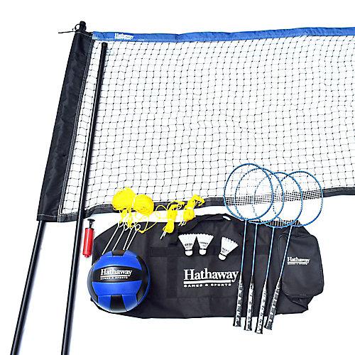 Ensemble combiné Volleyball/Badminton
