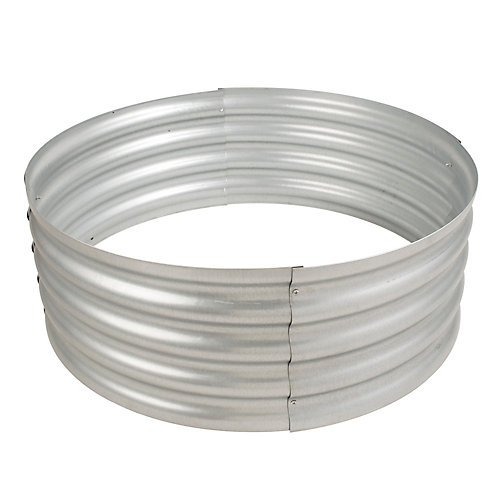 Infinity 36-inch Galvanized Outdoor Fire Ring