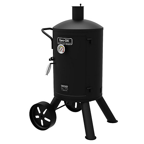 Heavy-Duty Vertical Charcoal Smoker