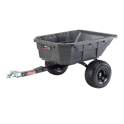 12.5 cu. ft. Poly Swivel ATV Cart, 1250 lb. capacity