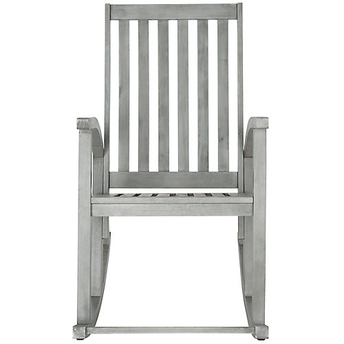 Clayton Rocking Chair in Grey Wash
