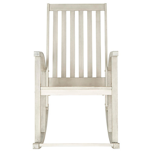 Clayton Rocking Chair in White Wash
