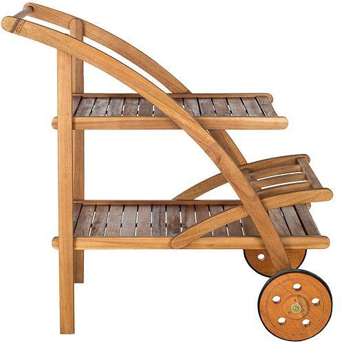 Lodi Outdoor Tea Cart in Teak
