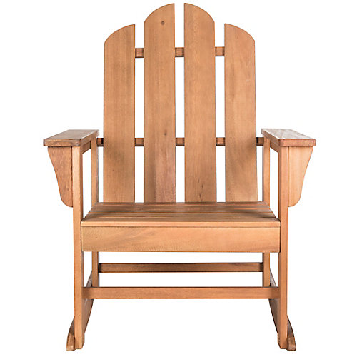 Moreno Rocking Chair in Teak Brown