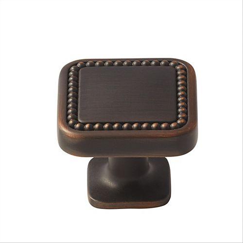 Amerock Bouton 1-1/4 po (32mm) LGTH Carolyne - Bronze huilé