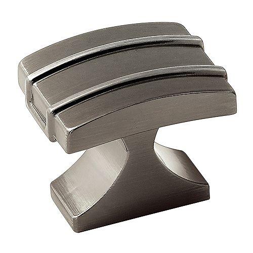 Amerock Bouton 1-1/4 po (32mm) LGTH Davenport - Bronze industriel