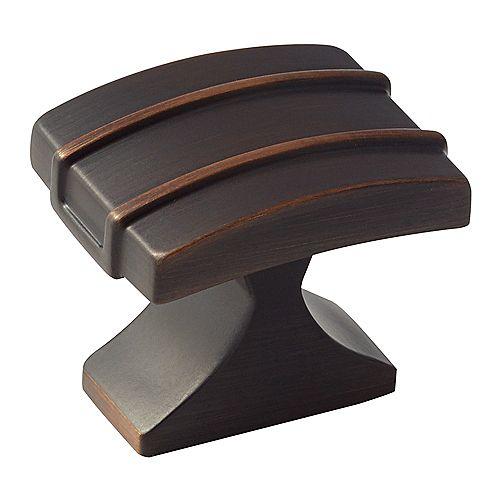 Amerock Davenport 1-1/4 Inch (32mm) LGTH Knob - Oil-Rubbed Bronze