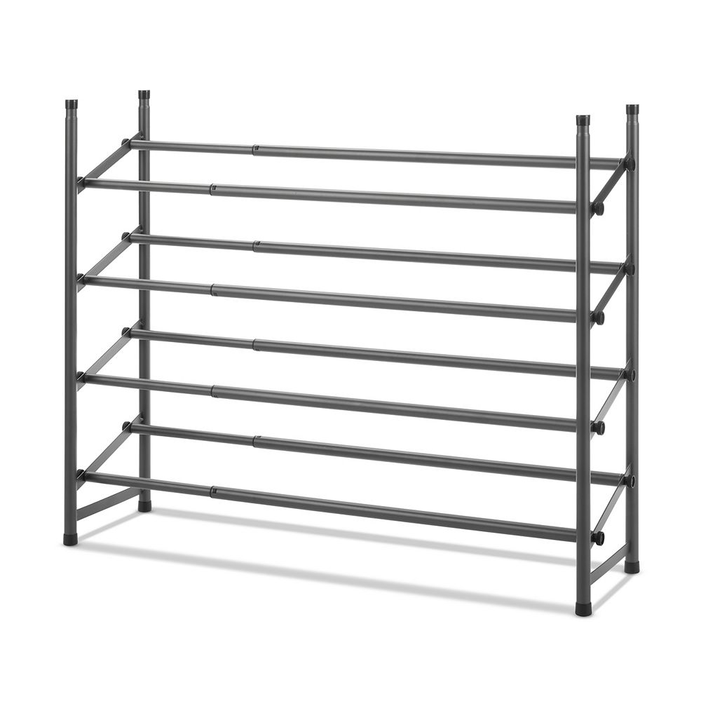 Whitmor 25-inch to 44-inch 4-Tier Expandable Shoe Rack