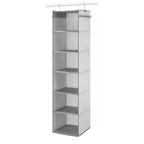 6-Shelf Hanging Closet Organizer