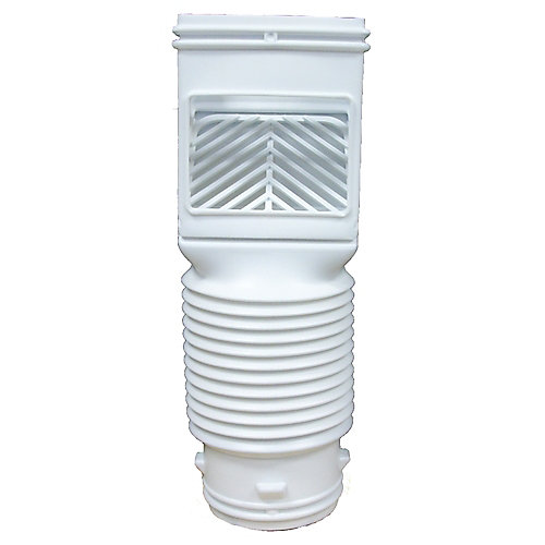 Flex-Grate Descente Filtre Blanc