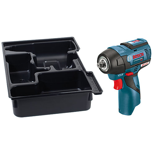 12V MAX EC Brushless 3/8 Inch Impact Wrench with Exact-Fit Insert Tray