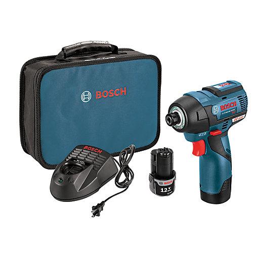 12V MAX EC Brushless Impact Driver Kit