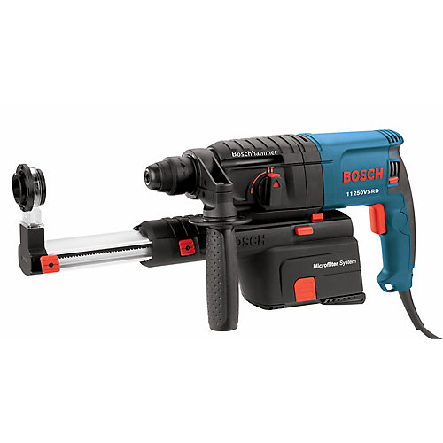 7/8-Inch SDS-plus Bulldog Rotary Hammer with Dust Collection