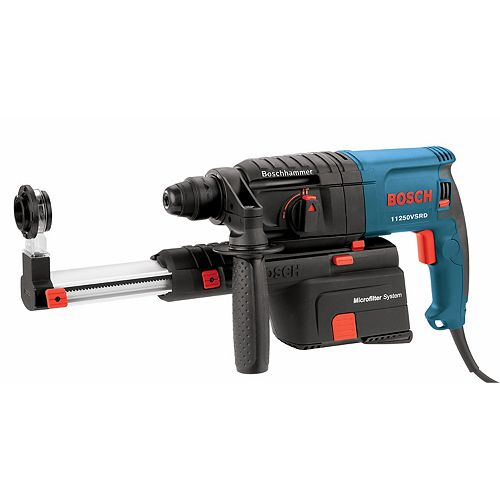 Bosch 7/8-Inch SDS-plus Bulldog Rotary Hammer with Dust Collection