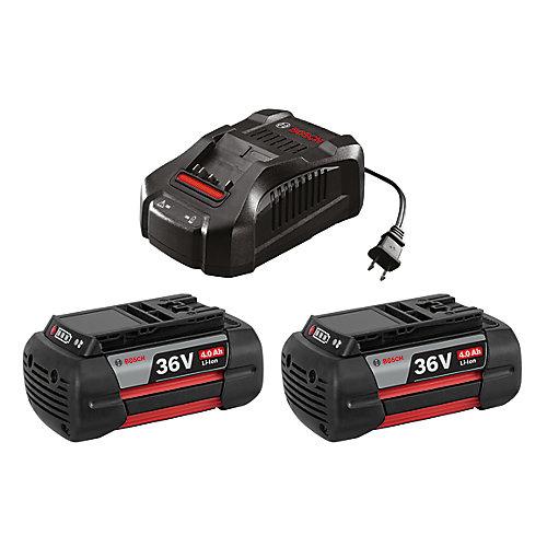 36 V Lithium-Ion Battery & Charger Starter Kit