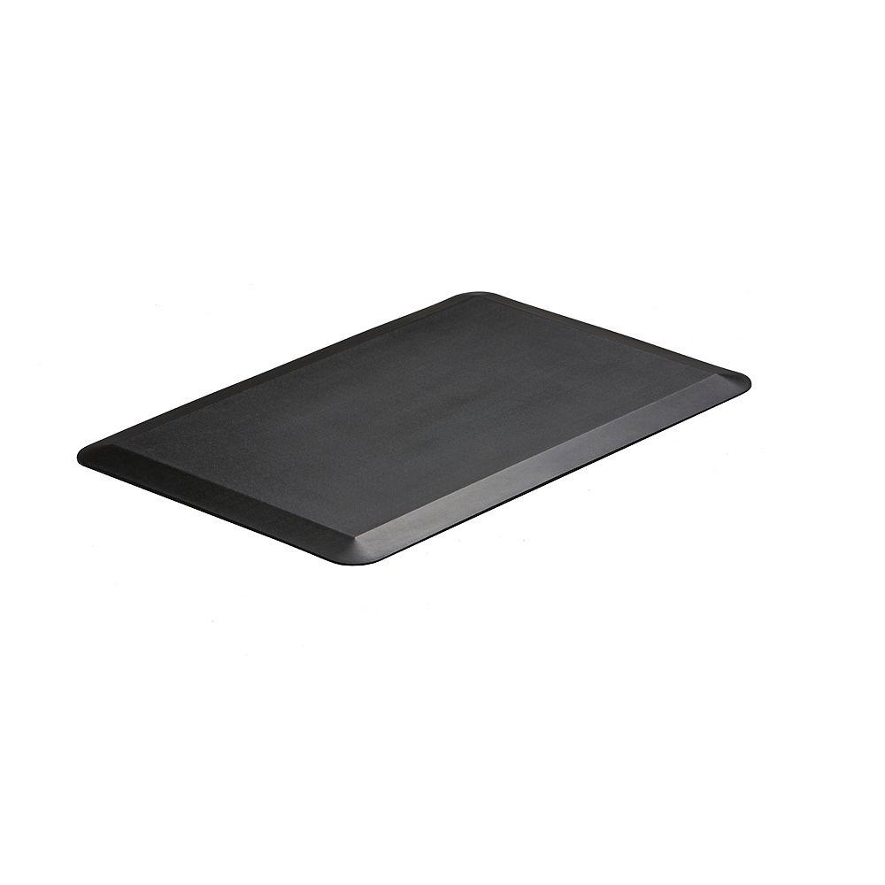 Imprint Comfort Mats Tapis de Catégorie Professionnelle, CumulusPro de 20x30x3/4 pouces, Noir