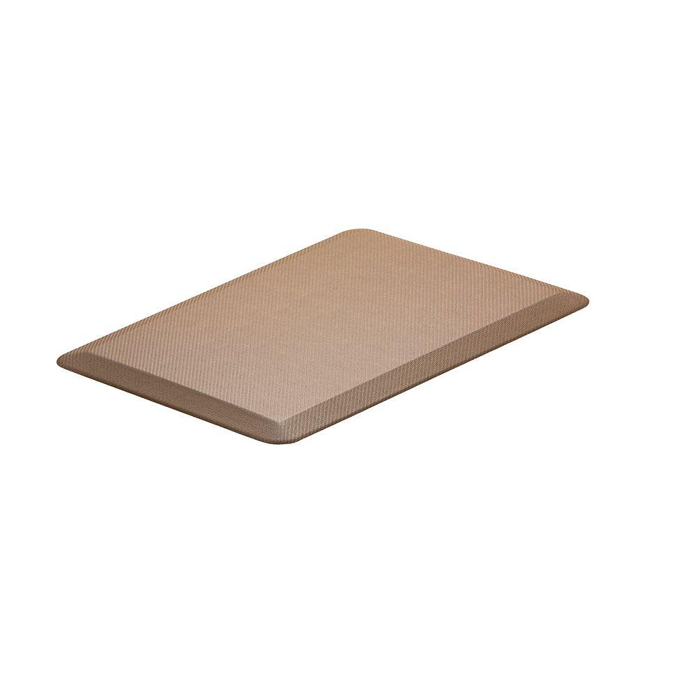 Imprint Comfort Mats CumulusPro Professional Grade Desert Palm Natural 20-inch x 30-inch x 3/4-inch Anti-Fatigue Mat
