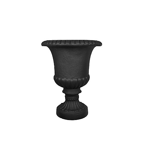 Tusco - Ensemble de 2 urne noir de 22 po