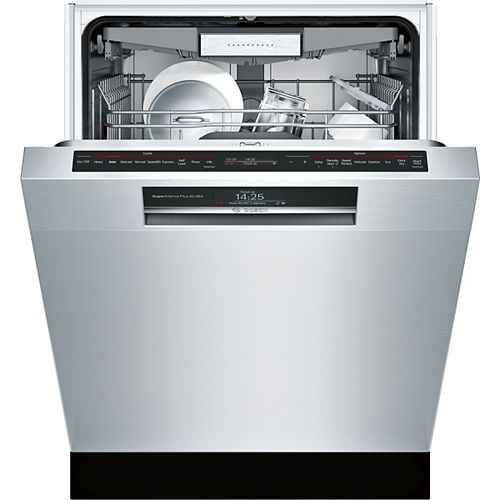 800 Series - 24 inch Home Connect Dishwasher w/ Recessed Handle - 42 dBA - Flexible 3rd Rack