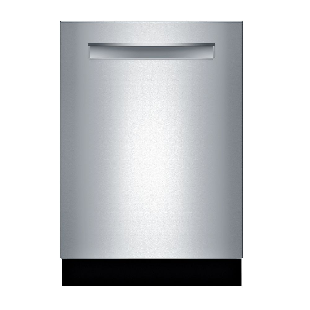 Bosch 500 Series 24-inch Top Control Dishwasher in Stainless Steel, 3rd Rack, 44 dBA,