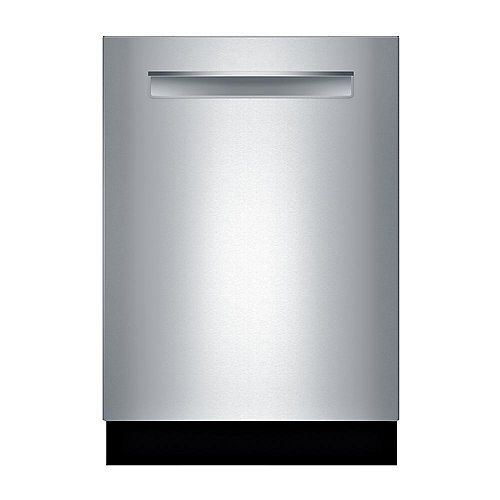 800 Series 24 pouces Top Control Dishwasher in Stainless Steel, MyWay 3rd Rack, 39 dBA ENERGY STAR®