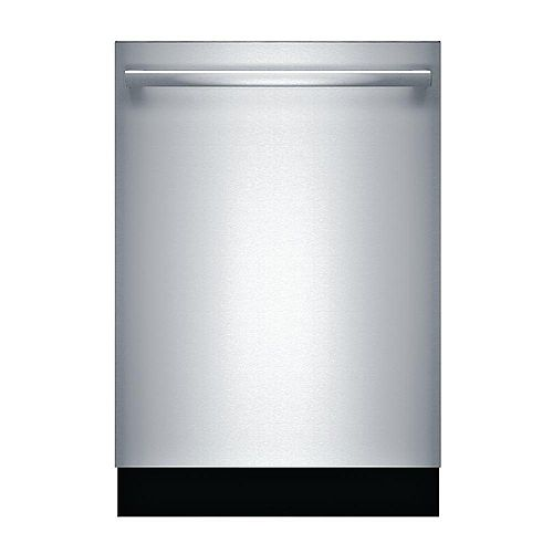 Bosch 300 Series 24-inch Top Control  Dishwasher in Stainless Steel, 3rd Rack, 44dBA ENERGY STAR®