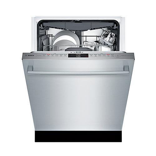 300 Series - 24 inch Dishwasher w/ Bar Handle - 44 dBA - Standard 3rd Rack - Water Softener