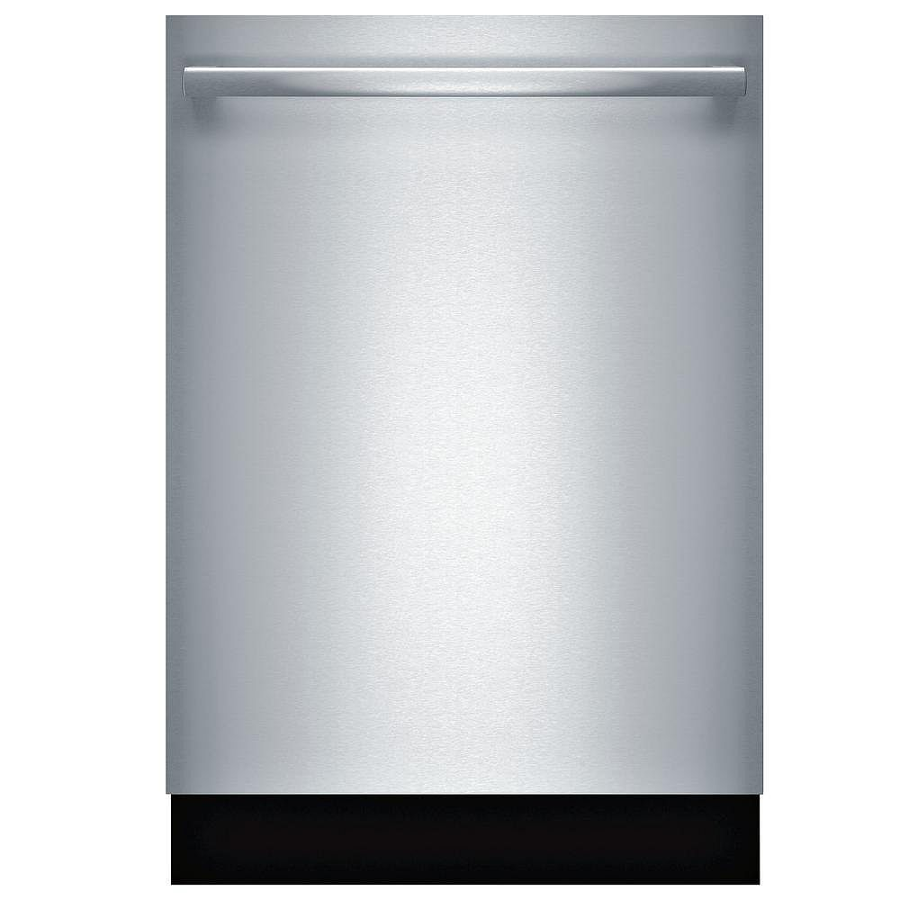 Bosch 800 Series 24-inch Top Control Dishwasher in Stainless Steel, MyWay 3rd Rack, 39 dBA - ENERGY STAR®