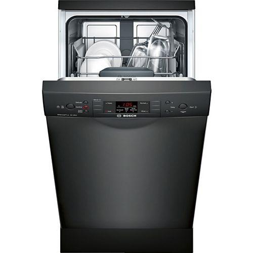 Bosch Série 300  Lave-vaisselle de 18 po avec poignée encastrée  46 dBA  Conformité A.D.A.