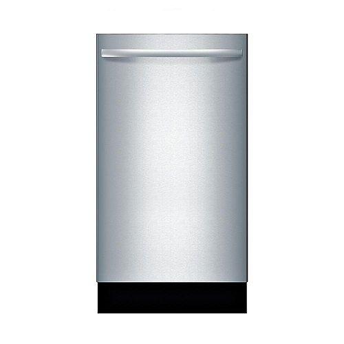 Bosch 800 Series - 18 inch Dishwasher w/ Bar Handle - 44 dBA - ADA Compliant