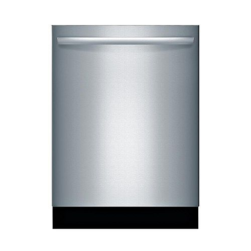 800 Series 24-inch Top Control Dishwasher in Stainless Steel, 3rd Rack, 44dBA Water Softener ENERGY STAR®