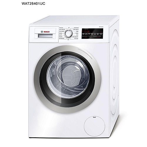 Bosch 500 Series - 24 inch Compact Washer - Plugs Into Dryer (See Installation Manual) - ENERGY STAR®