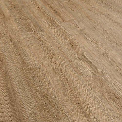 Plancher, stratifié, 8 mm x 7,6 po x 54,45 po, Chêne Jefferson, 20,11 pi2/boîte