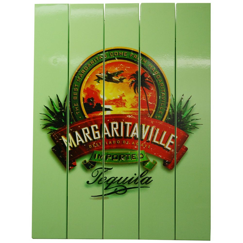 """Margaritaville Outdoor Rectangle Sign """"Tequila"""""""