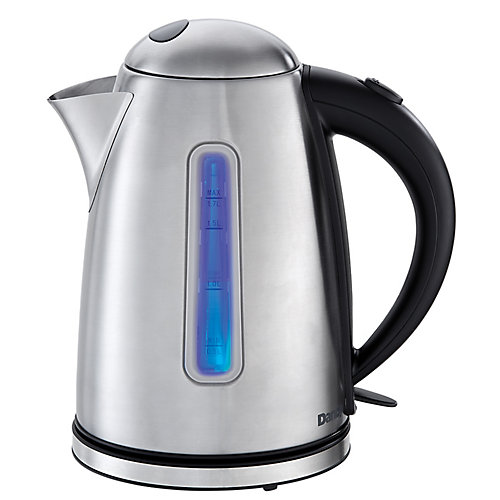 1.7L Kettle in Glass & Stainless Steel