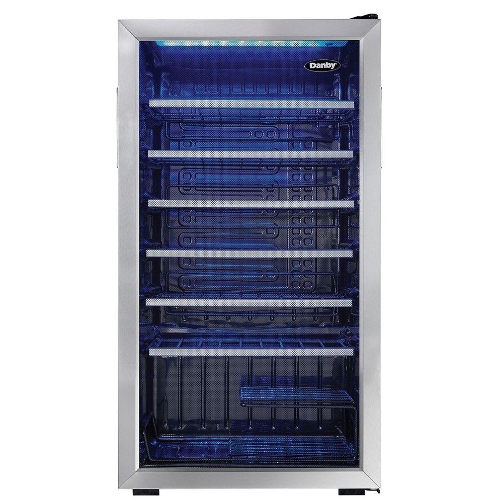 Danby Refroidisseurs à Vin en Acier Inoxydable de 36 Bouteilles