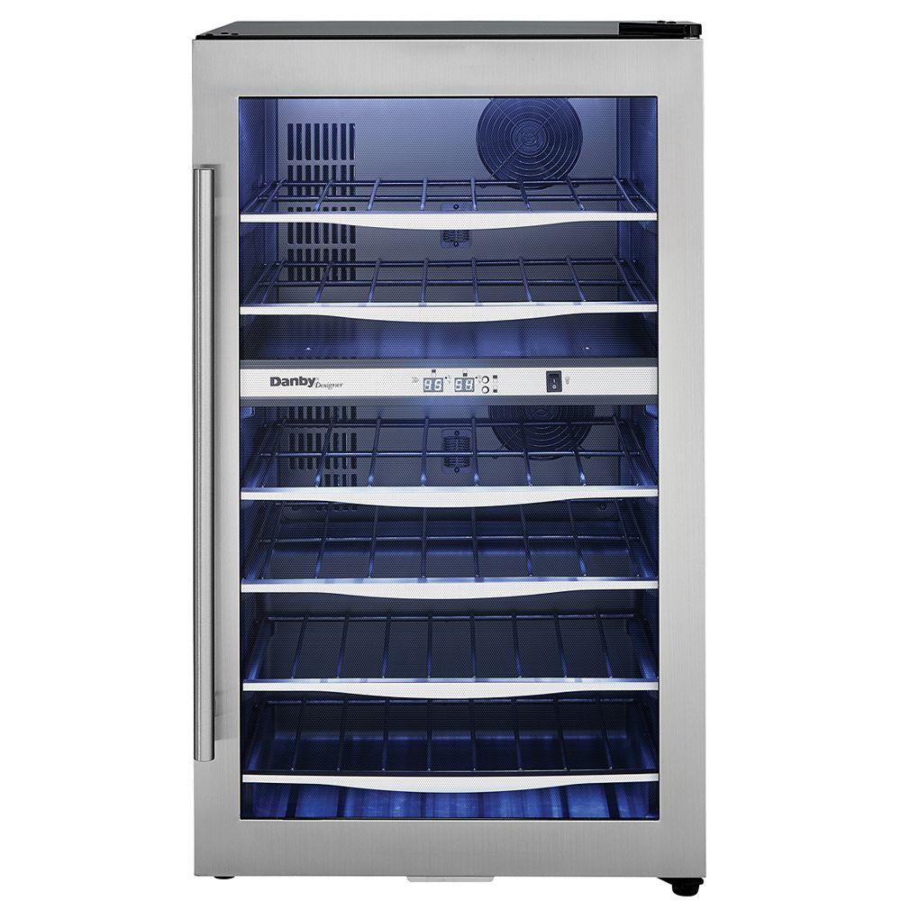 Danby Danby Designer 38 Bouteille Refroidisseurs à vin D'Acier Inoxydable