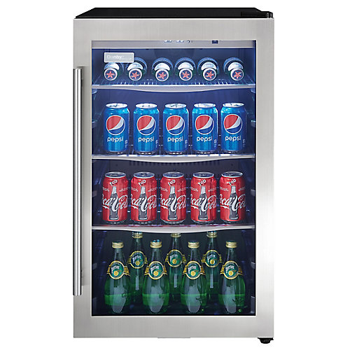 4.3 cu. Feet Stainless Steel Beverage Centre