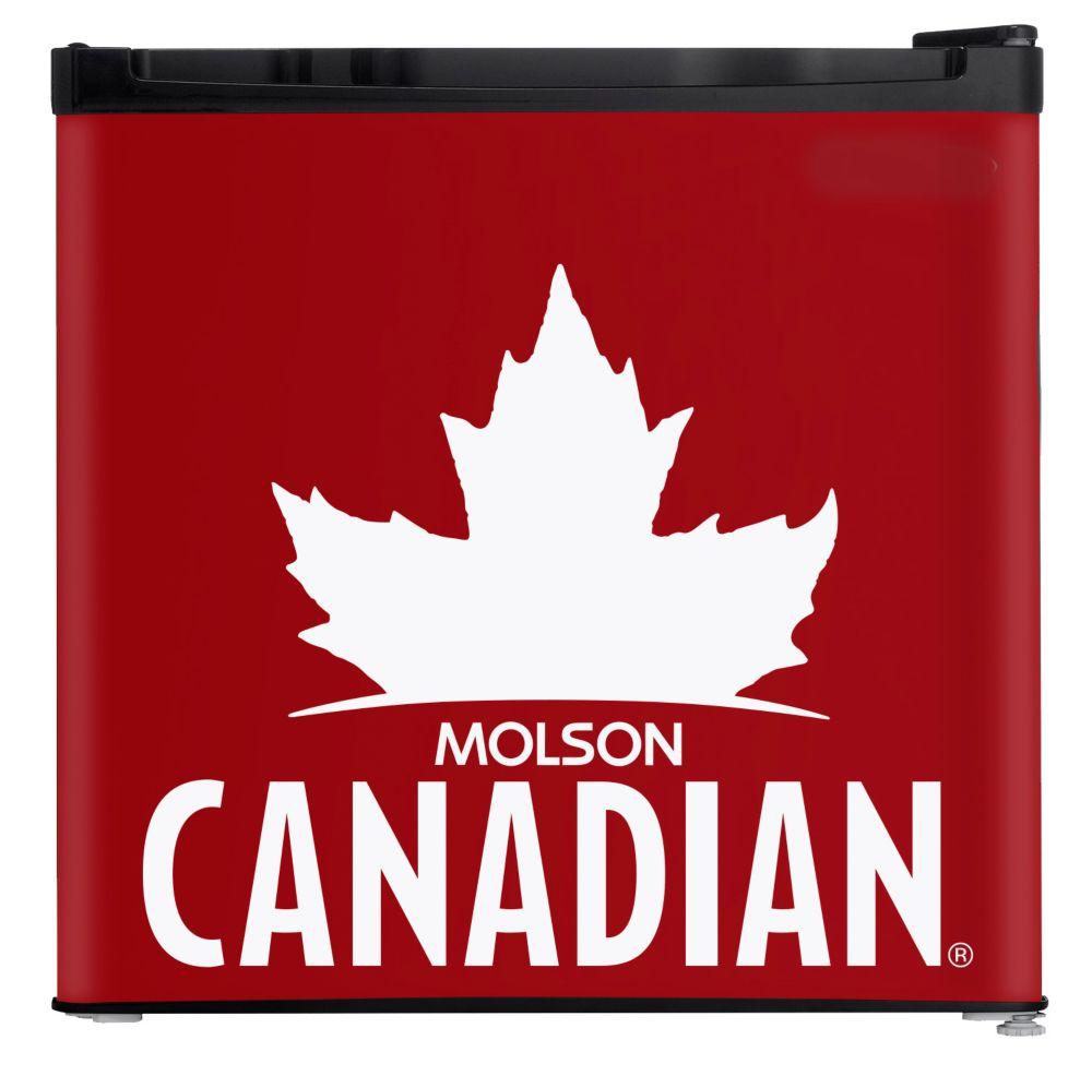 1.6 cf Molson Canadian Fridge with FREE Toque